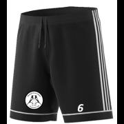 Hoyland Town Magpies Adidas Black Junior Training Shorts