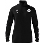 Hoyland Town Magpies Adidas Black Zip Training Top