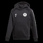 Hoyland Town Magpies Adidas Black Fleece Hoody