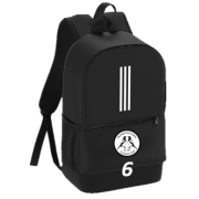 Hoyland Town Magpies Black Training Backpack