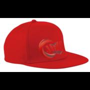 JML Cricket Red Snapback Cap
