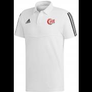 JML Cricket Adidas White Polo
