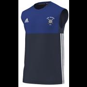 Long Marston CC Adidas Navy Training Vest