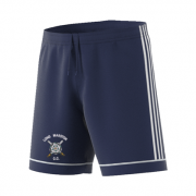 Long Marston CC Adidas Navy Junior Training Shorts