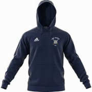 Long Marston CC Adidas Navy Junior Fleece Hoody