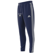 Long Marston CC Adidas Junior Navy Training Pants