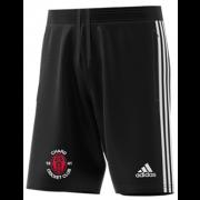 Chard CC Adidas Black Junior Training Shorts