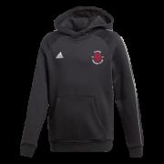 Chard CC Adidas Black Junior Fleece Hoody