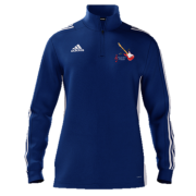 Sultans of Swing Adidas Blue Zip Training Top