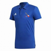 Sultans of Swing Adidas Royal Blue Polo