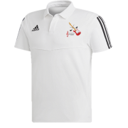 Sultans of Swing Adidas White Polo