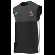 Cardiff CC Adidas Black Training Vest