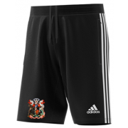 Cardiff CC Adidas Black Junior Training Shorts