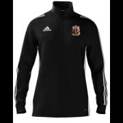 Cardiff CC Adidas Black Zip Training Top