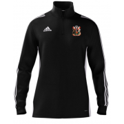 Cardiff CC Adidas Black Zip Junior Training Top