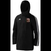 Cardiff CC Black Adidas Stadium Jacket