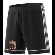 Cardiff CC Adidas Black Training Shorts