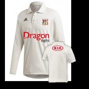 Cardiff CC Adidas Elite Long Sleeve Shirt