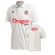 Cardiff CC Adidas Elite Junior Short Sleeve Shirt