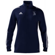 Billericay CC Adidas Navy Zip Junior Training Top