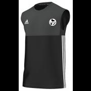 Harborough Taverners CC Adidas Black Training Vest