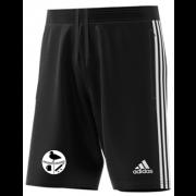 Harborough Taverners CC Adidas Black Junior Training Shorts