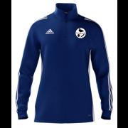 Harborough Taverners CC Adidas Blue Zip Junior Training Top