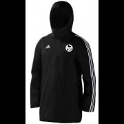 Harborough Taverners CC Black Adidas Stadium Jacket