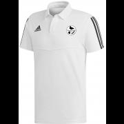 Harborough Taverners CC Adidas White Polo