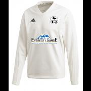 Harborough Taverners CC Adidas Elite Long Sleeve Sweater
