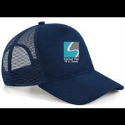Streford High School Navy Trucker Hat