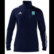 Streford High School Adidas Navy Zip Training Top