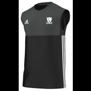 Chilham FC Adidas Black Training Vest