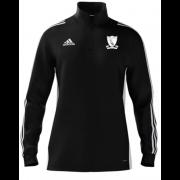 Chilham FC Adidas Black Zip Training Top