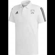 Chilham FC Adidas White Polo