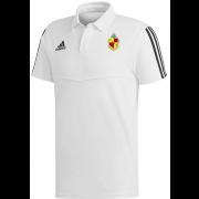 ELPM CC Adidas White Polo