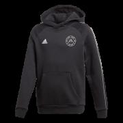 Hoyland Magpies Junior FC U10s Adidas Black Junior Fleece Hoody