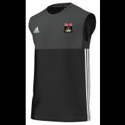 Fareham and Crofton CC Adidas Black Training Vest