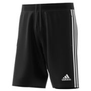 Fareham and Crofton CC Adidas Black Junior Training Shorts