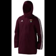 Fareham and Crofton CC Maroon Adidas Stadium Jacket