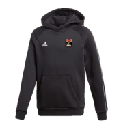 Fareham and Crofton CC Adidas Black Junior Fleece Hoody