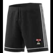 Fareham and Crofton CC Adidas Black Training Shorts