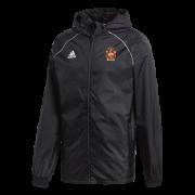 Barrow CC Adidas Junior Black Rain Jacket