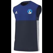 Shakespeare CC Adidas Navy Training Vest