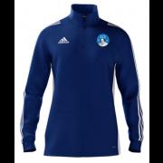 Shakespeare CC Adidas Blue Zip Training Top