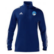 Shakespeare CC Adidas Blue Zip Junior Training Top