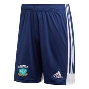 Darwen CC Towers Adidas Navy Junior Training Shorts