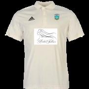 Darwen CC Towers U15s Adidas Pro Junior Short Sleeve Polo