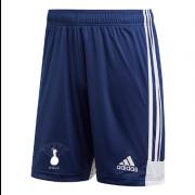 Dell Boys CC Adidas Navy Junior Training Shorts