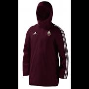 Thornton Bantam Roosters Maroon Adidas Stadium Jacket